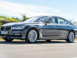 BMW 7 Series 2016 PC wallpapers