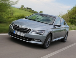 Skoda Superb 2015 wallpapers for desktop