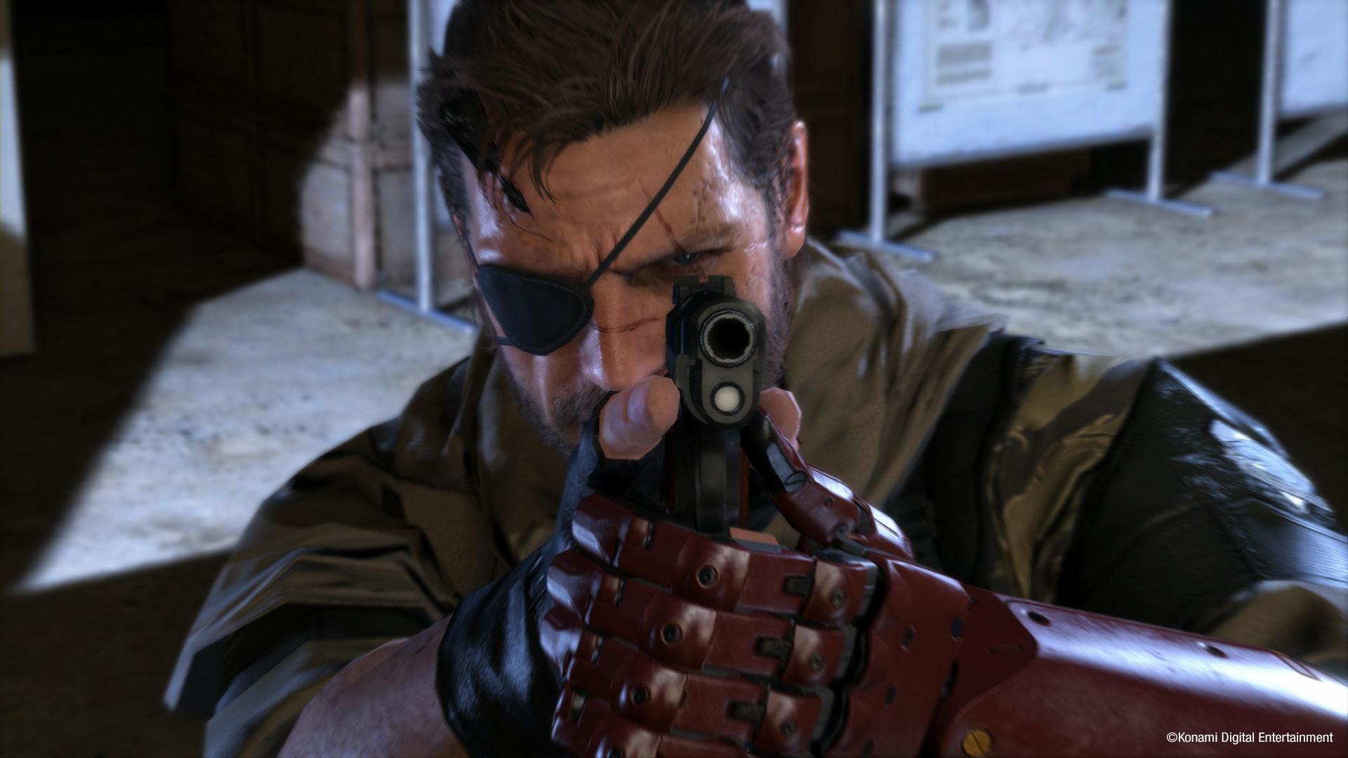 Metal Gear Solid V: The Phantom Pain background