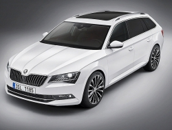 Skoda Superb Combi background