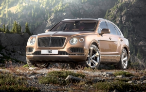 Bentley Bentayga 2016 Wallpapers HD