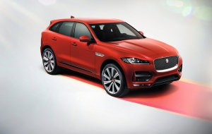Jaguar F-Pace 2016 New Wallpapers
