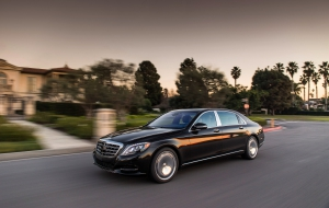 Mercedes-Maybach S600 HD Background
