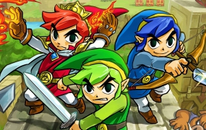 Zelda Tri Force Heroes Screenshots