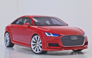 Audi TT Sportback 2016 High Quality Wallpapers