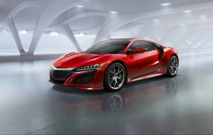 Acura NSX 2016 HD Wallpaper