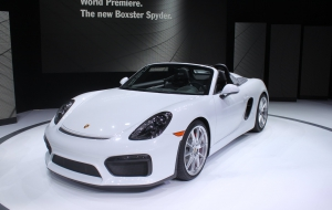 Porsche Boxster Spyder 2016 HD Wallpaper