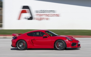 Porsche Cayman GT 2016 HD Wallpaper