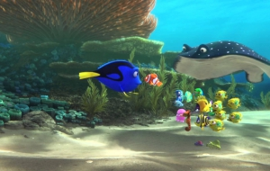 Finding Dory HD Wallpaper