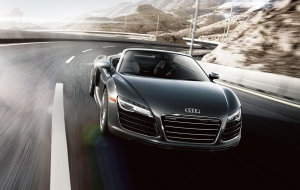 Audi R8 2015 Background