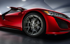 Acura NSX 2016 Background