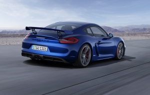 Porsche Cayman GT 2016 Background