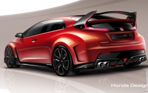 Honda Civic Type R 2018 Background