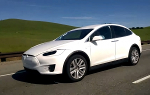 Tesla Model X HD Background