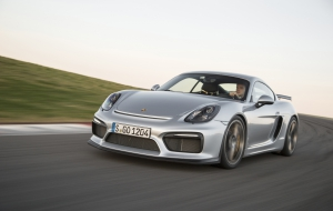 Porsche Cayman GT 2016 HD Background