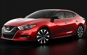Nissan Maxima 2016 HD Background