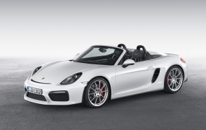 Porsche Boxster Spyder 2016 Wallpapers