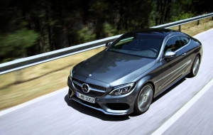 Mercedes-Benz C-class Coupe 2017 Wallpapers