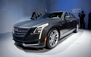 Cadillac CT6 2016 Wallpapers HD