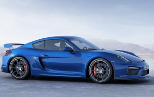 Porsche Cayman GT 2016 Wallpaper