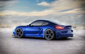 Porsche Cayman GT 2016 Photos