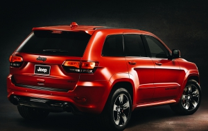 Jeep Grand Cherokee Trackhawk 2017 Images