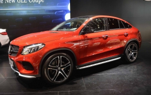Mercedes-Benz GLE Coupe 2016 Images