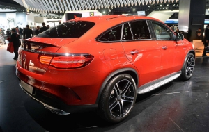 Mercedes-Benz GLE Coupe 2016 Computer Wallpaper