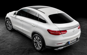 Mercedes-Benz GLE Coupe 2016 High Definition Wallpapers