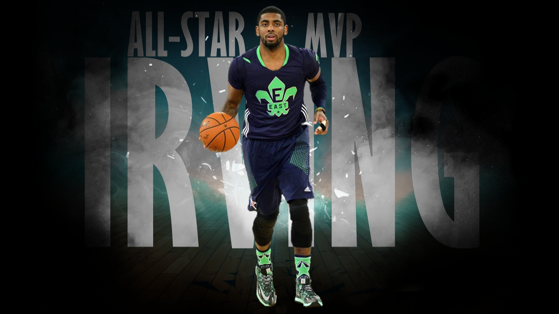 Kyrie Irving Wallpaper | Kyrie Irving | Pinterest | Wallpapers ...