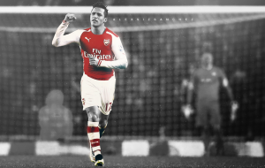 Alexis Sanchez HD Background