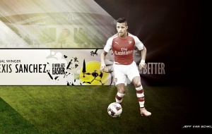 Alexis Sanchez Widescreen