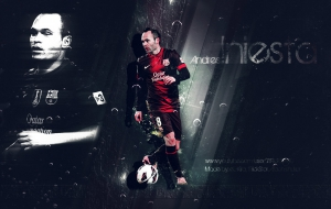 Andres Iniesta High Definition