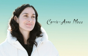 Carrie Anne Moss Background