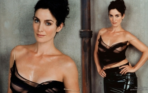 Carrie Anne Moss HD Desktop