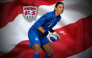Hope Solo HD Wallpaper