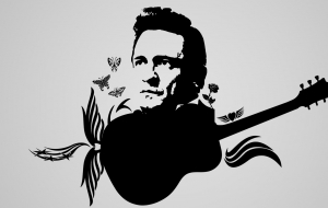 Johnny Cash HD Background