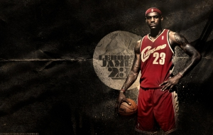 LeBron James Widescreen