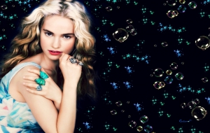 Lily James High Definition