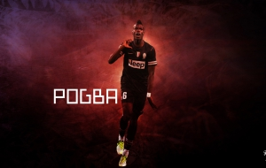 Paul Pogba HD Background