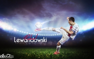 Robert Lewandowski HD Background