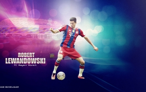 Robert Lewandowski Widescreen