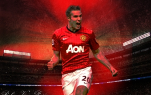 Robin Van Persie HD Wallpaper