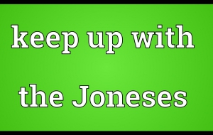 Keeping Up With The Joneses Background