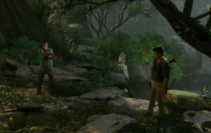 Uncharted Movie HD Background