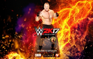 WWE 2K17 HD Wallpaper
