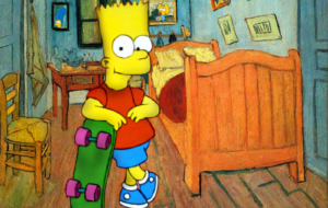 Bart Simpson HD Desktop