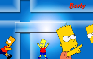 Bart Simpson HD Wallpaper