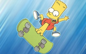Bart Simpson For Desktop