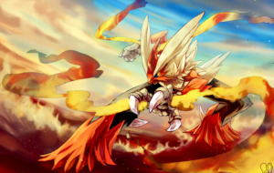 Blaziken HD Background